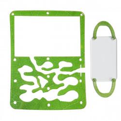 """Сменная накладка Мини """"Зелёный лист"""""""
